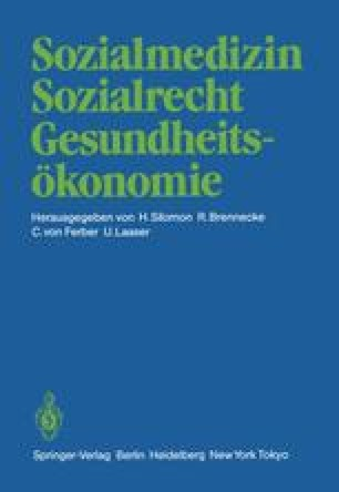 Sozialmedizin Sozialrecht Gesundheitsökonomie