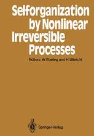 Selforganization by Nonlinear Irreversible Processes