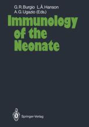 Immunology of the Neonate