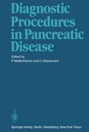 Diagnostic Procedures in Pancreatic Disease