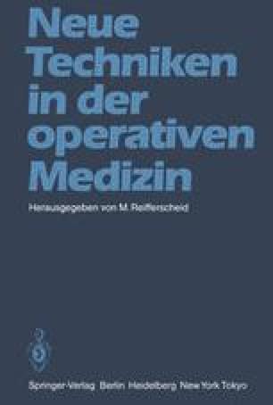 Neue Techniken in der operativen Medizin