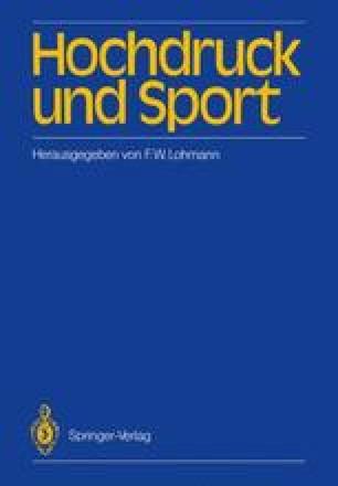 Hochdruck und Sport