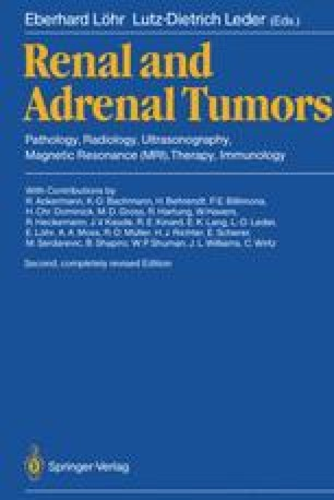 Renal and Adrenal Tumors