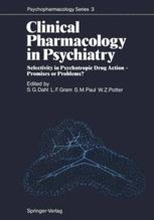Clinical Pharmacology in Psychiatry