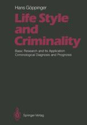 Life Style and Criminality