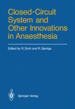 Closed-Circuit System and Other Innovations in Anaesthesia
