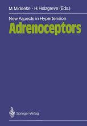 New Aspects in Hypertension Adrenoceptors