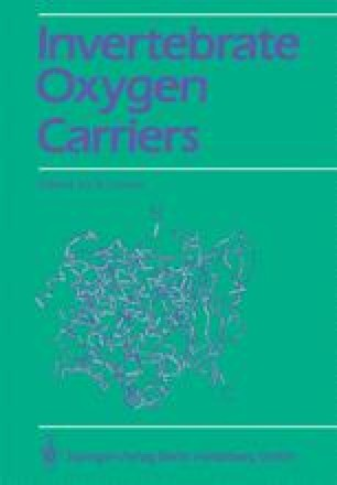 Invertebrate Oxygen Carriers
