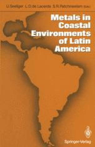 Metals in Coastal Environments of Latin America