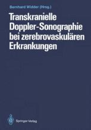 Transkranielle Doppler-Sonographie bei zerebrovaskulären Erkrankungen