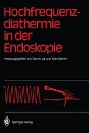Hochfrequenz-diathermie in der Endoskopie