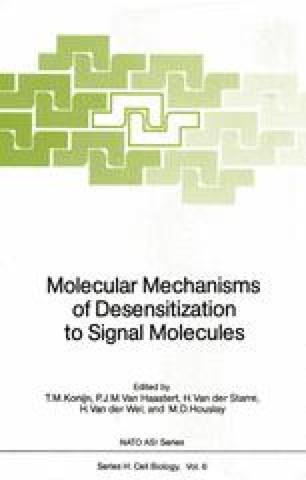 Molecular Mechanisms of Desensitization to Signal Molecules
