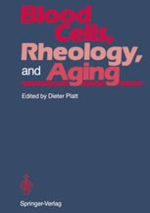 Blood Cells, Rheology, and Aging