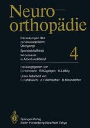 Erkrankungen des zervikookzipitalen Übergangs Spondylolisthesis Wirbelsäule in Arbeit und Beruf