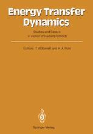 Energy Transfer Dynamics