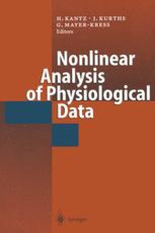 Nonlinear Analysis of Physiological Data