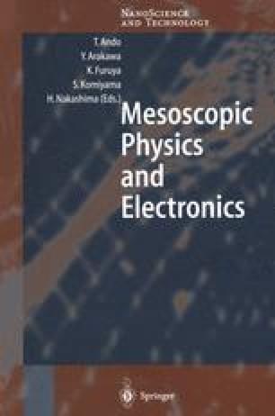 Mesoscopic Physics and Electronics
