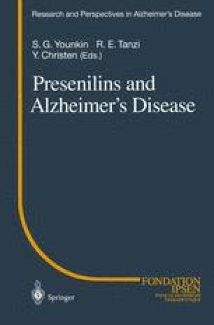 Presenilins and Alzheimer's Disease