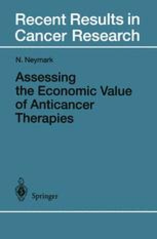 Assessing the Economic Value of Anticancer Therapies