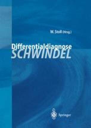 Differentialdiagnose Schwindel