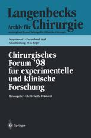 Chirurgisches Forum '98