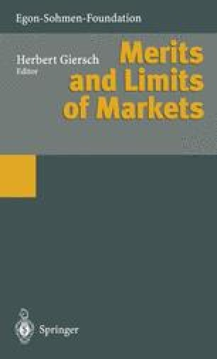 Merits and Limits of Markets