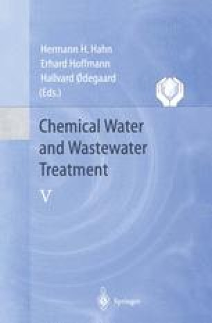 Chemical Water and Wastewater Treatment V