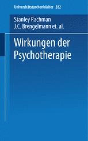 Wirkungen der Psychotherapie