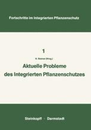 Aktuelle Probleme im Integrierten Pflanzenschutz