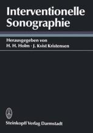 Interventionelle Sonographie