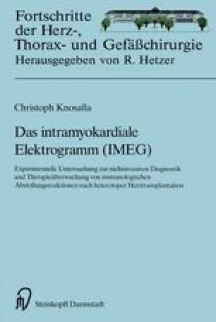 Das intramyokardiale Elektrogramm (IMEG)