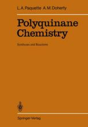 Polyquinane Chemistry