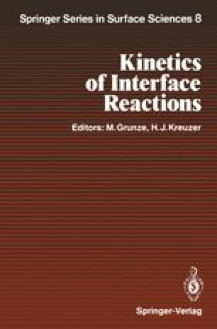 Kinetics of Interface Reactions
