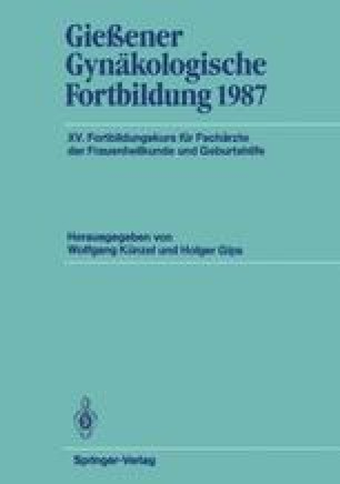 Gießener Gynäkologische Fortbildung 1987