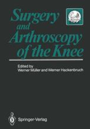 Surgery and Arthroscopy of the Knee