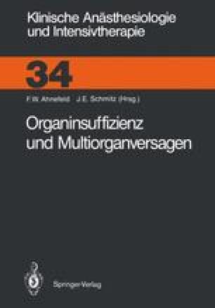 Organinsuffizienz und Multiorganversagen