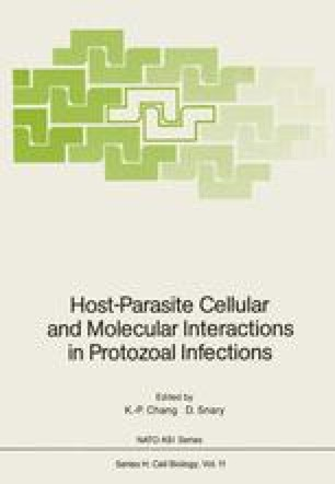 Host-Parasite Cellular and Molecular Interactions in Protozoal Infections