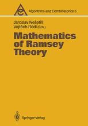 Mathematics of Ramsey Theory