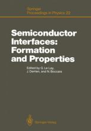 Semiconductor Interfaces