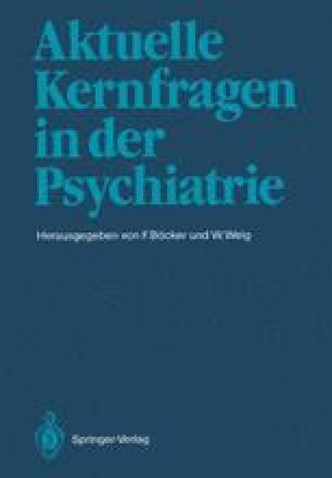 Aktuelle Kernfragen in der Psychiatrie