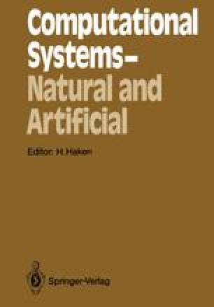 Computational Systems — Natural and Artificial