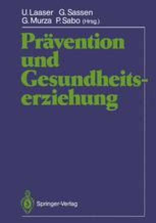Prävention und Gesundheitserziehung
