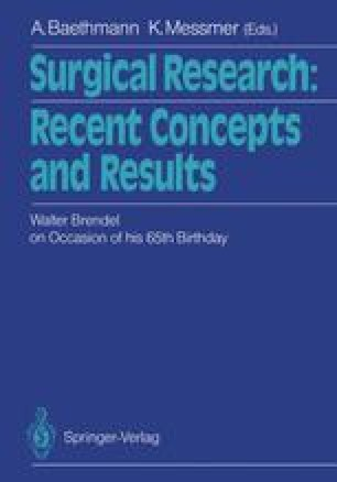 Surgical Research: Recent Concepts and Results