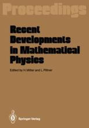Recent Developments in Mathematical Physics