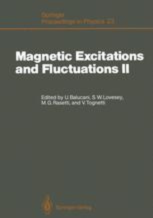 Magnetic Excitations and Fluctuations II