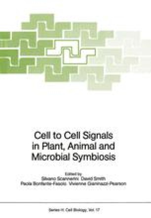 Cell to Cell Signals in Plant, Animal and Microbial Symbiosis