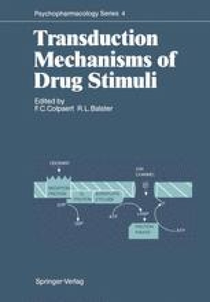 Transduction Mechanisms of Drug Stimuli