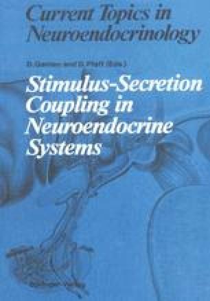Stimulus-Secretion Coupling in Neuroendocrine Systems