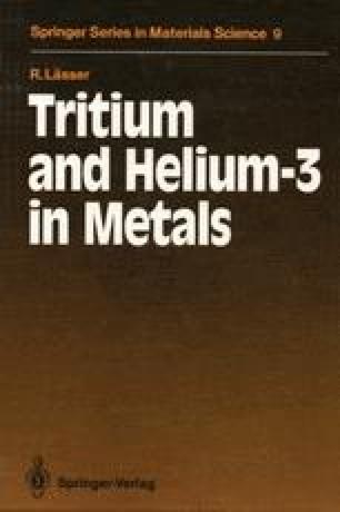Tritium and Helium-3 in Metals