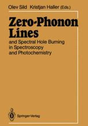 Zero-Phonon Lines